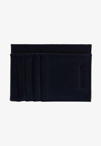 Business card holder - navy