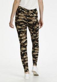 Culture - CUSEMIRA  - Leggings - Trousers - brown camouflage - 2