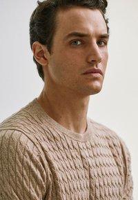 Massimo Dutti - Sweater - nude - 3