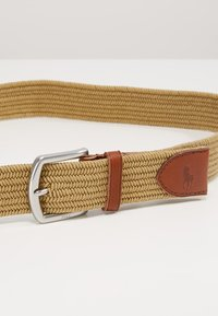 Polo Ralph Lauren - BRAIDED FABRIC STRETCH - Belt - timber brown - 3