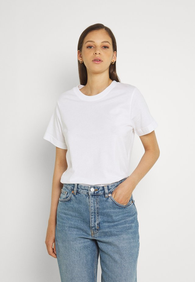 MYSEN BASE  - Jednoduché triko - white