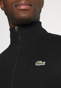 Lacoste - Zip-up hoodie - black - 5