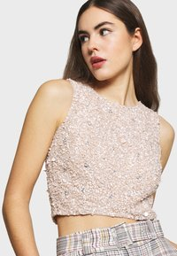 Lace & Beads - PICASSO - Topper - nude - 4
