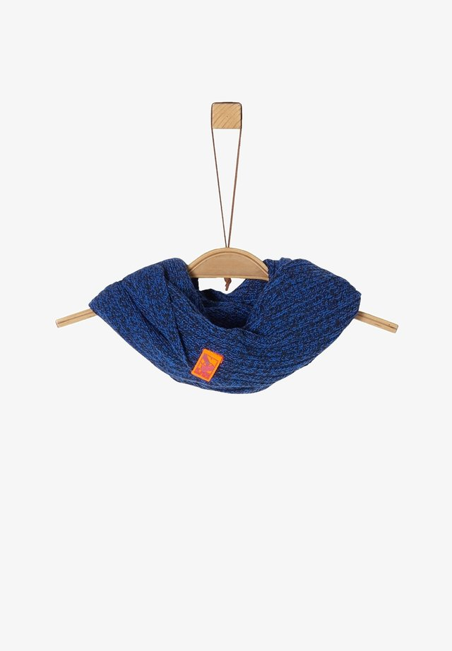 Snood - dark blue knit