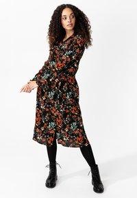 Indiska - Shirt dress - black - 3