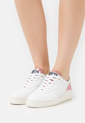LOWTOP  - Sneakersy niskie - white/pink