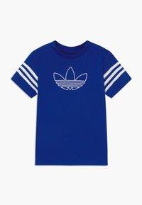 adidas Originals - OUTLINE - Camiseta estampada - blue/white - 0