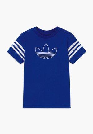 OUTLINE - Print T-shirt - blue/white