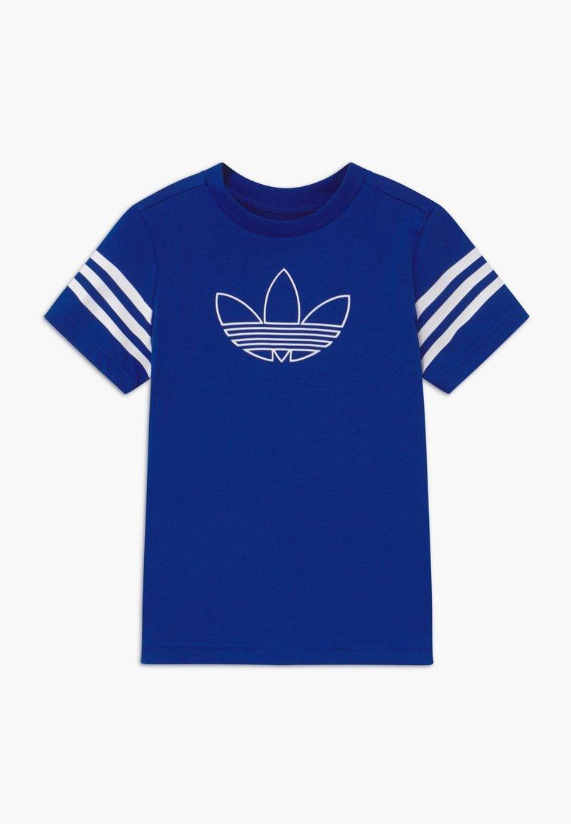 adidas Originals - OUTLINE - Camiseta estampada - blue/white