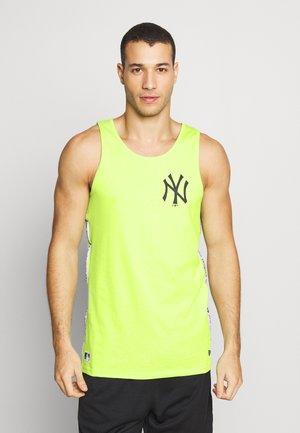TAPING TANK NEW YORK YANKEES - Club wear - light green