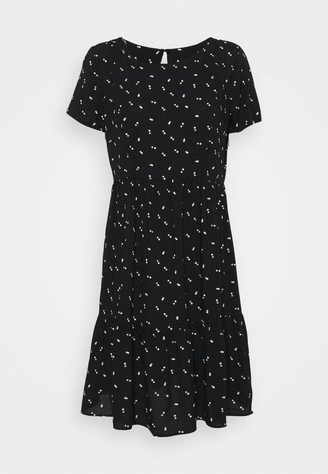 INEZ - Korte jurk - black