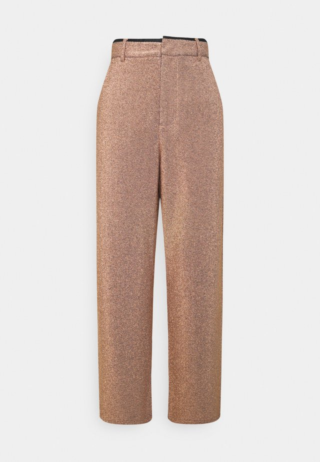 WIDE LEG PANTS STRETCH  - Trousers - combo