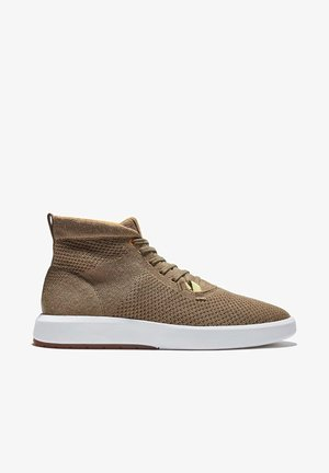 TRUECLOUD EK + KNIT CHUKKA - High-top trainers - nutria