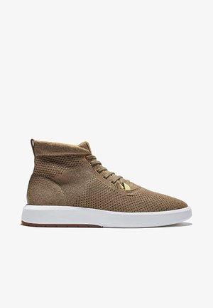 TRUECLOUD EK + KNIT CHUKKA - Sneakers alte - nutria