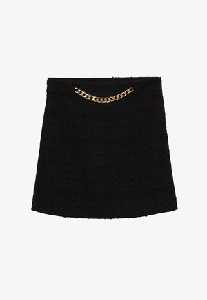 HARRIET - Mini skirt - zwart