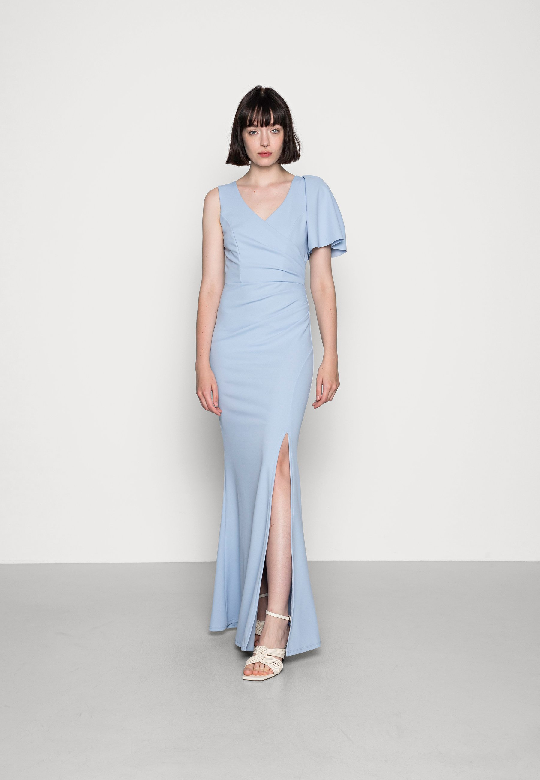 Women MAGGIE V NECK DRESS - Jersey dress