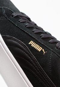 Puma - VIKKY STACKED - Baskets basses - black/white - 2