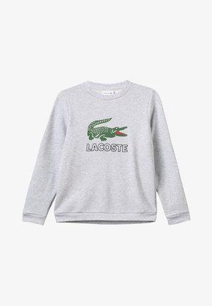BOY LOGO - Sweatshirt - argent chine