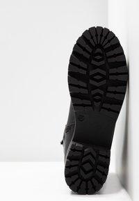 Versace Jeans Couture - Enkellaarsjes met plateauzool - nero - 6