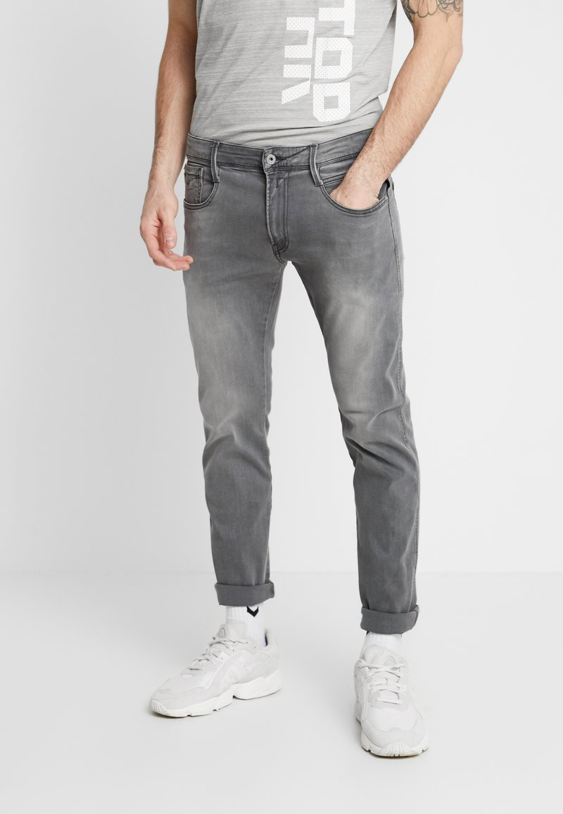 Replay - ANBASS - Slim fit jeans - dark grey