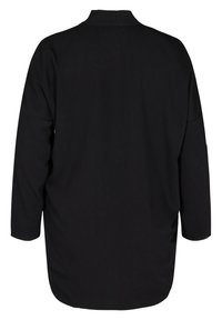 Zizzi - LONG-SLEEVED WITH A V-NECK - Tunique - black - 5
