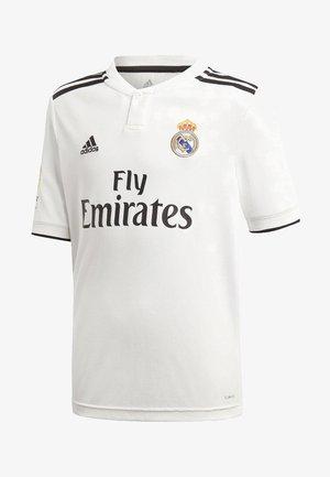 REAL MADRID HOME - Club wear - white
