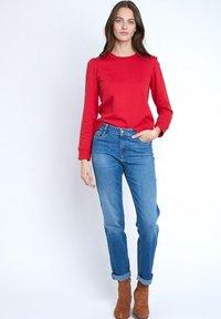 Maison 123 - Slim fit jeans - bleu marine - 1