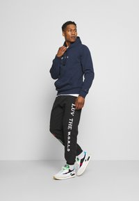 Tommy Jeans - TIMELESS HOODIE UNISEX - Sweat à capuche - twilight navy - 1