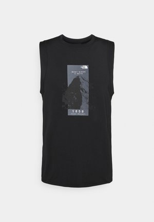 GLACIER TANK - Top - black
