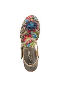 LAURA VITA - High heeled sandals - grey - 1