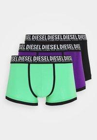 Diesel - UMBX-DAMIEN 3 PACK - Pants - black/green/purple - 4