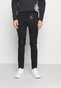 AMICCI - MILAZZO  - Jeans Tapered Fit - black - 0