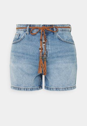 ONLKELLY - Jeansshorts - light blue denim