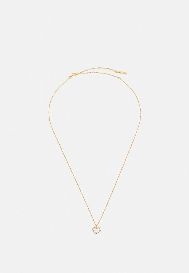 HEART - Collana - gold-coloured
