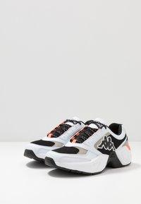 Kappa - KRYPTON - Sports shoes - white/black - 2