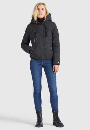 CAYANA - Winter jacket - schwarz