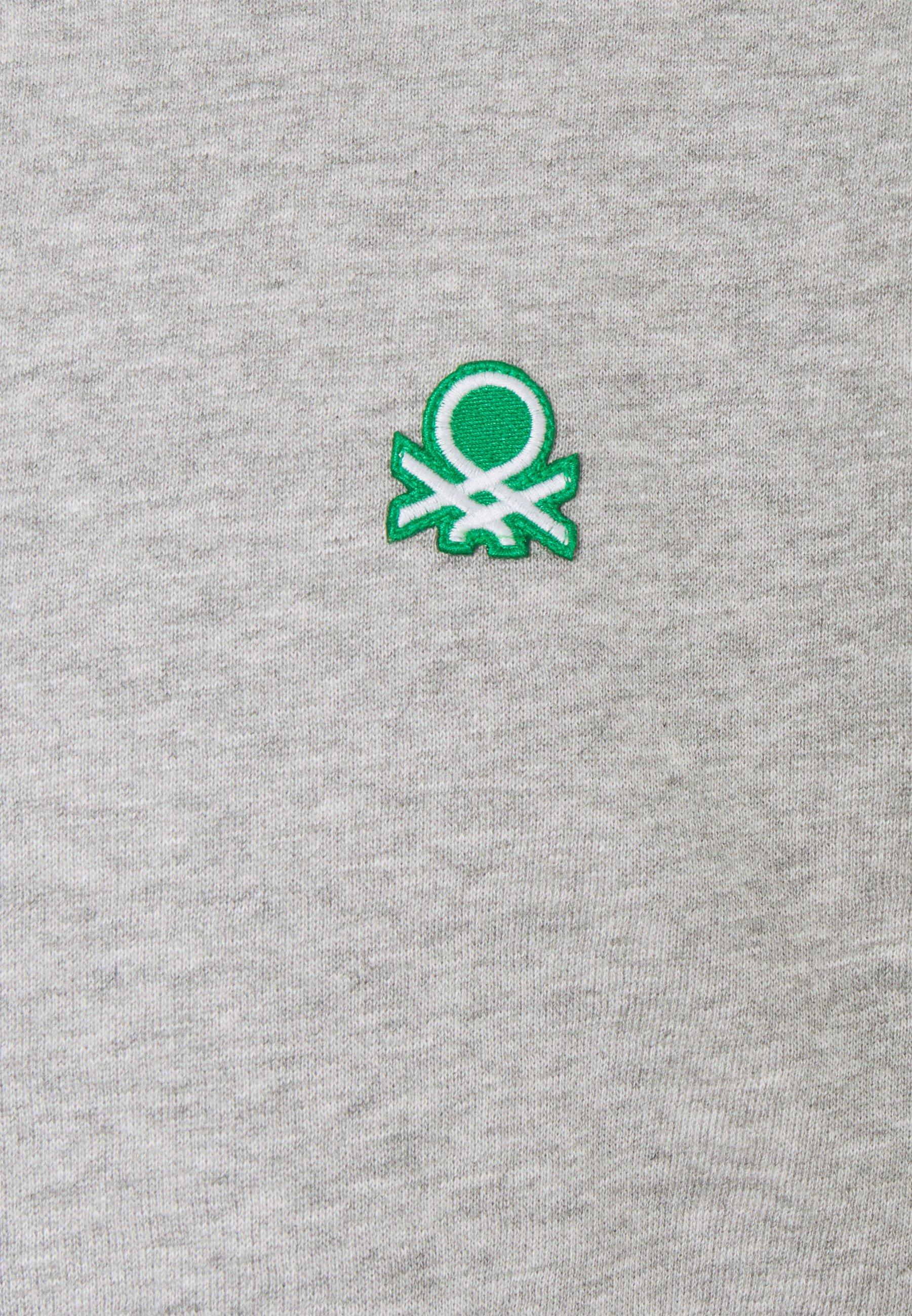 Benetton CREW NECK - Sudadera - light grey J1pbo