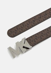 Michael Kors - BUCKLE BELT - Gürtel - brown/black - 2