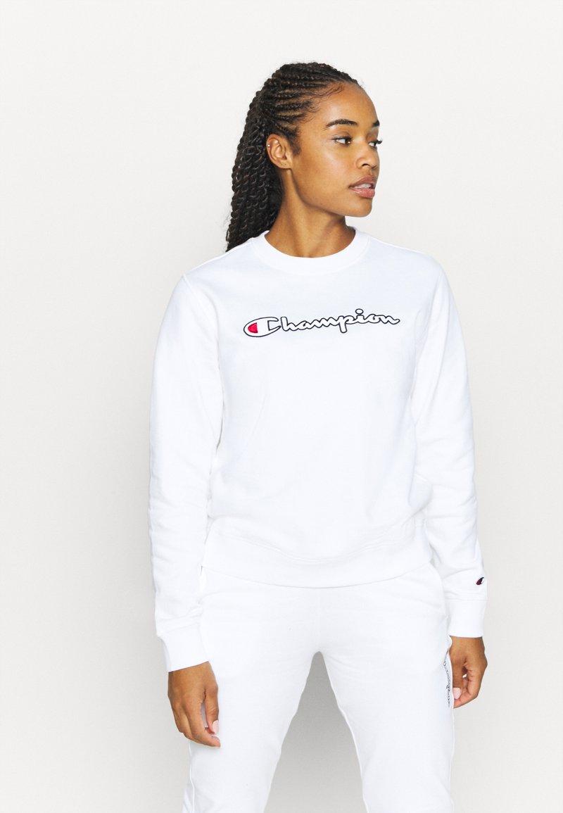 Champion - CREWNECK ROCHESTER - Collegepaita - white