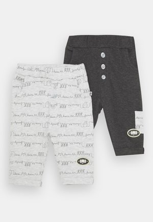 AFFECTION 2 PACK - Trousers - grey