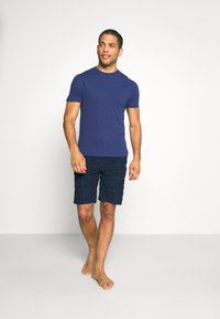 Tommy Hilfiger - SHORT LOGO - Pyjama bottoms - blue - 1