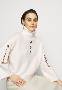 Pinko - GUYANA SWEATER - Sweter - white - 3
