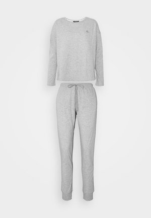 LONG SET - Pyjama set - grey