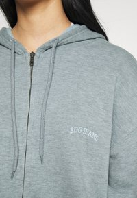 BDG Urban Outfitters - ZIP THROUGH HOODIE - Hettejakke - blue - 4