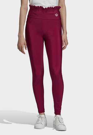 BELLISTA SPORTS INSPIRED SLIM TIGHTS - Legginsy - power berry