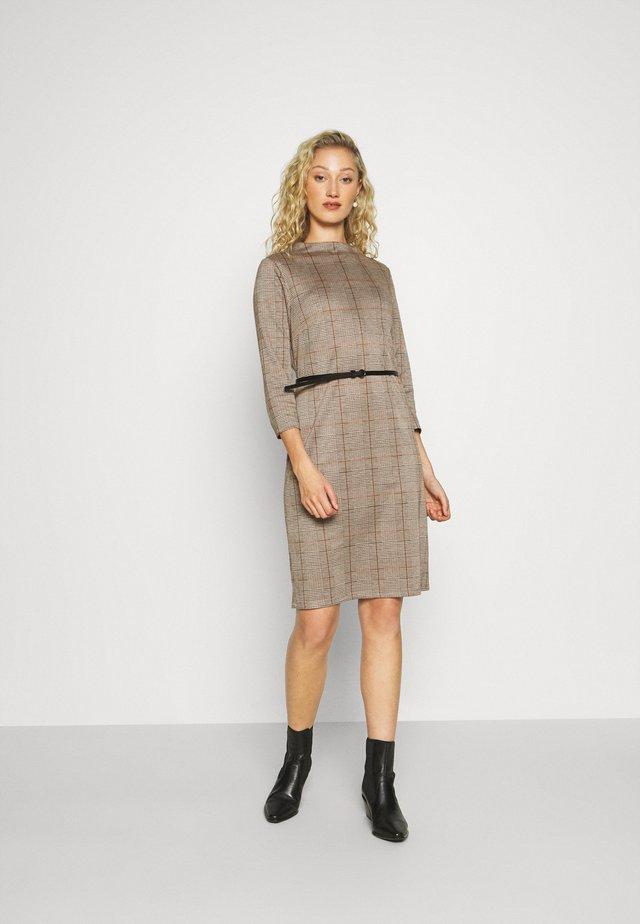 Shift dress - light brown
