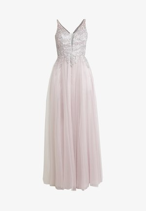 Robe de cocktail - taupe/silber