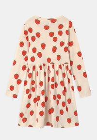 Mini Rodini - STRAWBERRY - Jersey dress - offwhite - 1
