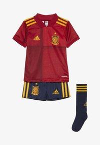 adidas Performance - SPAIN FEF HOME JERSEY MINI - Equipación de selecciones - victory red - 4