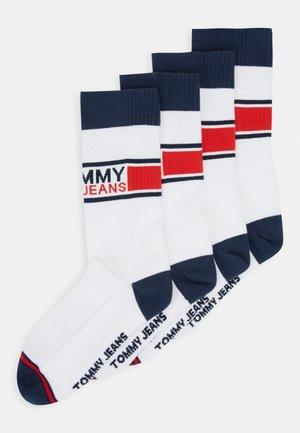 SOCKS 2 PACK UNISEX  - Socks - white